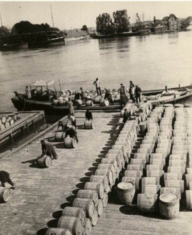 Barrels with Fish, Astrakhan, 1928