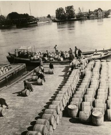 Barrels with Fish, Astrakhan, 1928
