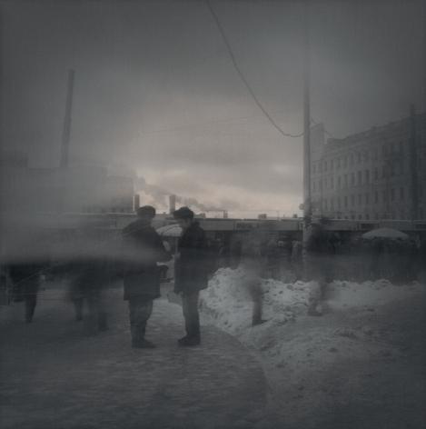 Evening Smog (asking for a cigarette), St. Petersburg, 1995