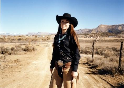 Rodeo Girl, Colorado,2015, C-Type Archival Hand Print