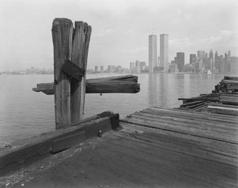 George Tice, Hudson River Pier,Jersey City,1979