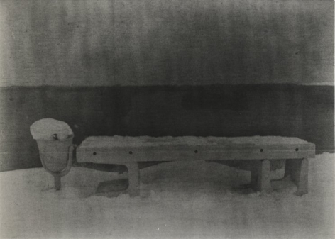 Untitled (bench), 2009