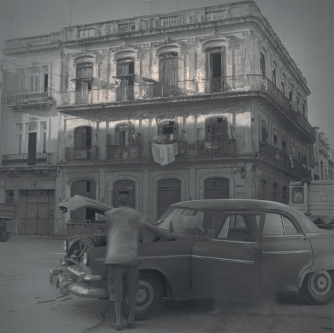 Square, Broken Car, Havana, 2003