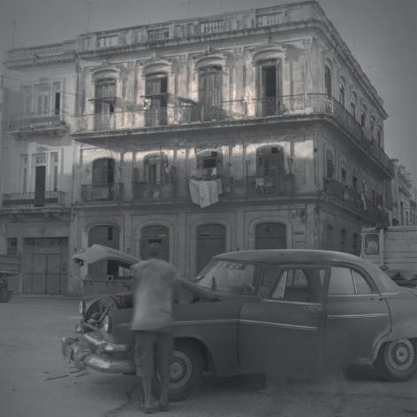 Square, Broken Car, Havana, 2003