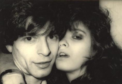 Sasha Borodulin and Gia Carangi, Studio 54, late 1970s