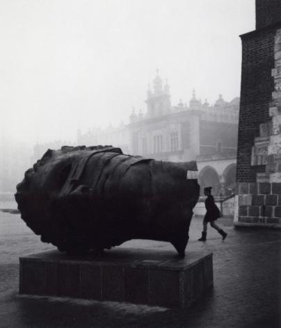 Cracow, Poland (head), 2005, Gelatin silver print