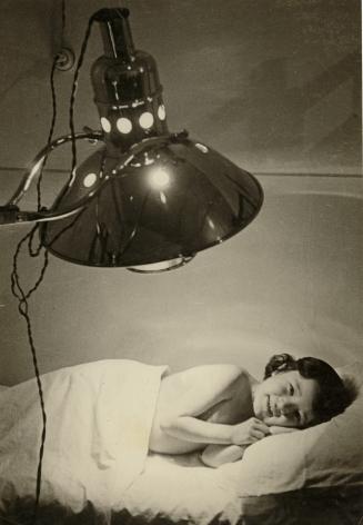 Young Girl under Quartz Lamp, 1937