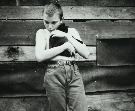 jakob with cat