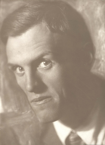 Untitled (portrait of a man), 1920sVintage gelatin silver print6 1/8 x 4 1/2 in. (15.6 x 11.4 cm)