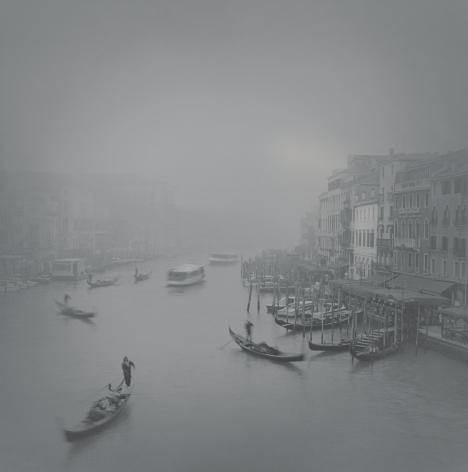 The Grand Canal in Fog, Rialto, Venice, 2007