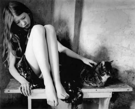 hannah with cat
