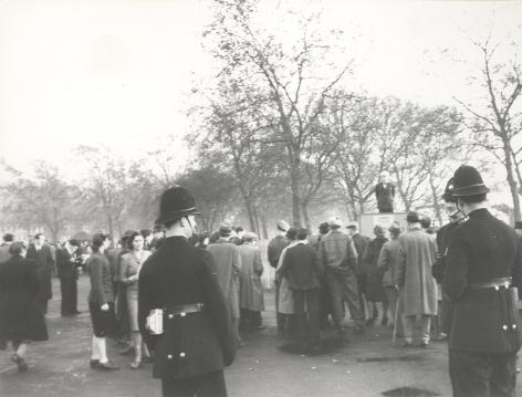 Meeting in Hyde Park