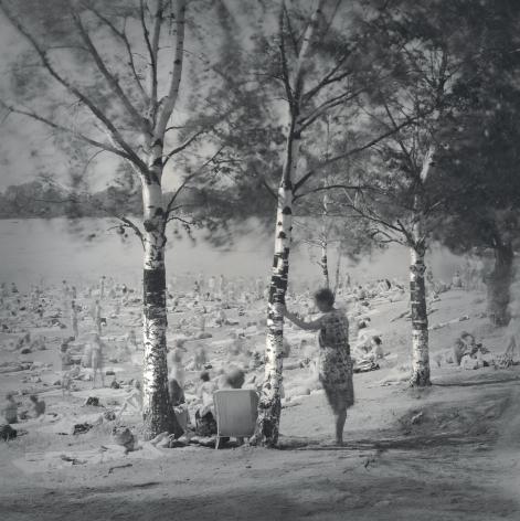 Birch trees, Lake near Ozerki Metro Station, St. Petersburg, 1999