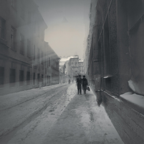 Couple, St. Petersburg, 1996, Toned gelatin silver print