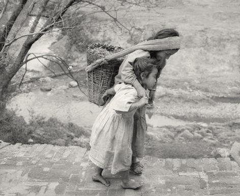 Panauti, Nepal (two children), 1994, Gelatin silver print