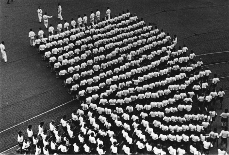 """Alexander Rodchenko Dynamo Sports Club (from the series """"Sport parade on Red Square""""), 1932"""