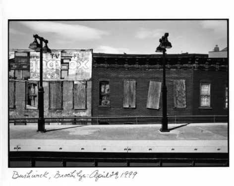 William Meyers Bushwick, Brooklyn: April 29, 1999