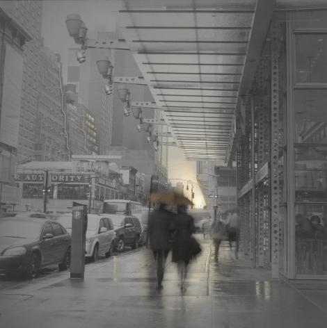 Alexey Titarenko (b. 1962, St. Petersburg), Couple with Umbrella, New York, 2014