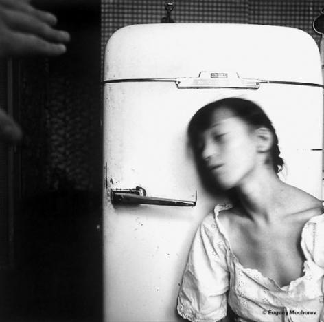 At the Refrigerator,1998, Gelatin silver print