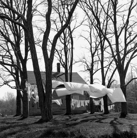 George Tice, Clothesline, Northport, Maine