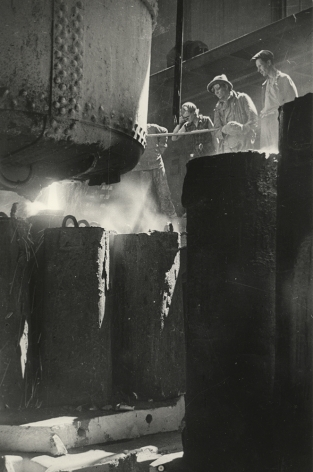 Boris Ignatovich (1899-1976), Molten Steel, 1938