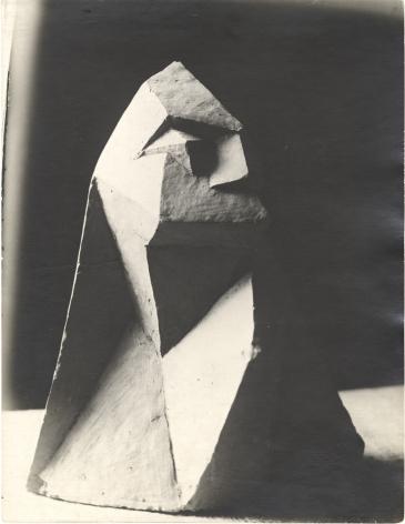 Unidentified artist, Cubist Bust, c. 1919-1920