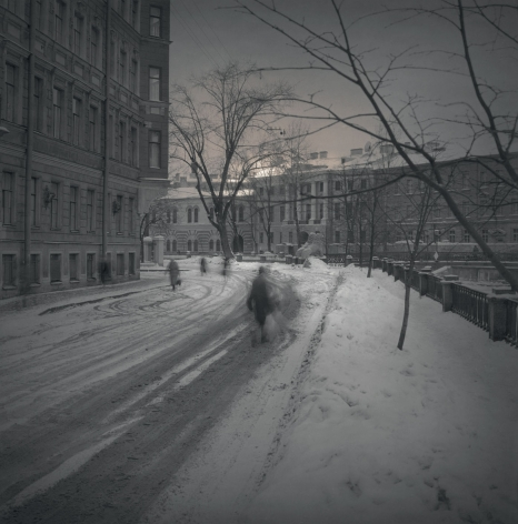 Near Lion Bridge, St. Petersburg, 1997