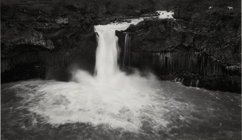Iceland (Waterfall),1980, Gelatin silver print
