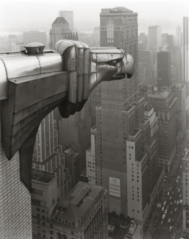 George Tice (b. 1938, Newark), From the Chrysler Building, New York