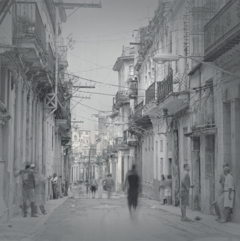 Street with Wires, Havana, 2006