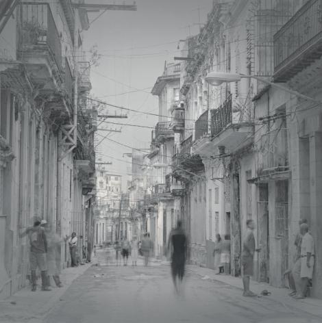 Street with Wires, Havana, 2006