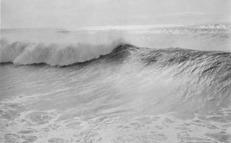 White Wave, 1985, Gelatin silver print