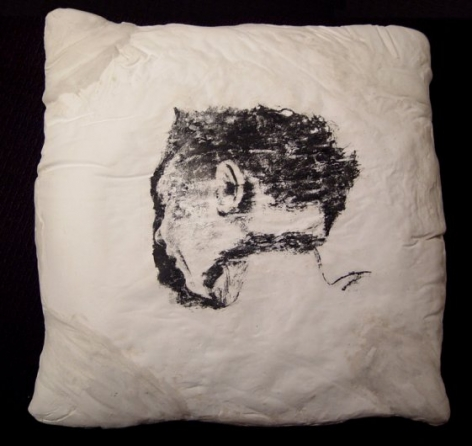Pillow (Man, back), 1996