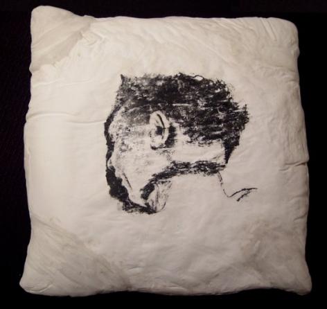 Pillow (Man, back),1996