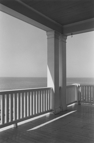 George Tice (b. 1938, Newark), Porch, Monhegan Island, Maine