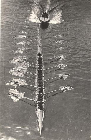 Arkady Shaikhet (1898-1959), Motor Boat and Eight Oarsmen, 1939