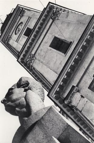 Boris Ignatovich(1899-1976) Monument to Ferdinand Lassalle, 1930
