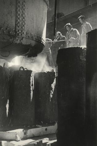 Molten Steel, Azovstal' Metallurgy Works, Mauripol', Ukraine, 1937