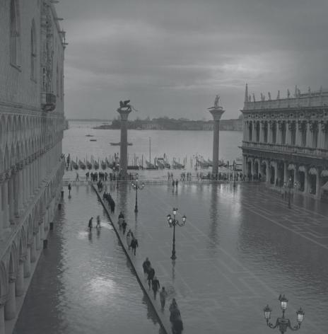 Acqua Alta, Piazzetta, Venice, 2002