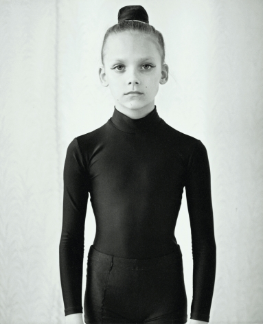 Gymnast girl, Moscow, Russia, 2002