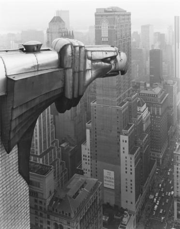 George Tice (b. 1938, Newark), From the Chrysler Building, New York,1978