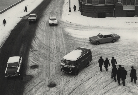 Moscow, Russia (Intersection),1980, Gelatin silver print