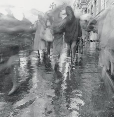 Rain on Nevsky Prospect, St. Petersburg, 1994
