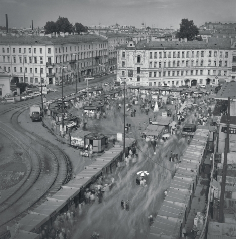 Haymarket Square from the Rooftop, St. Petersburg, 1998