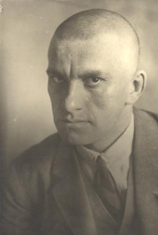 Portrait of Vladimir Mayakovsky, 1924, Vintage gelatin silver print