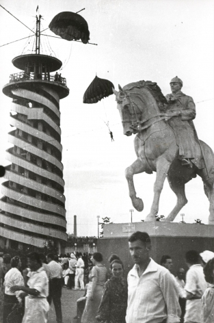 In Central Park, Moscow, 1938