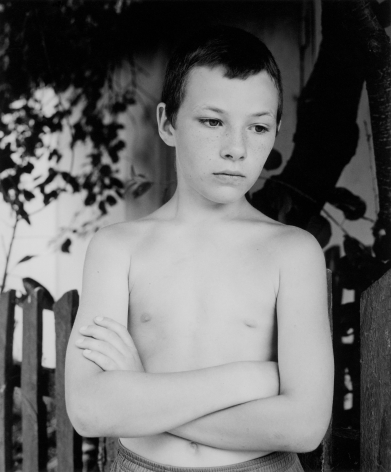 Boy with crossed arms (Nikita), Ukraine, 2003
