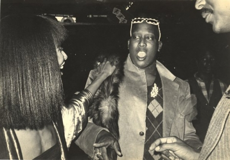 Vogue's Andre Leon Talley, Studio 54, 1980