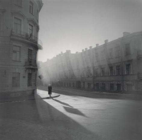 Woman on the corner, St. Petersburg, 1995