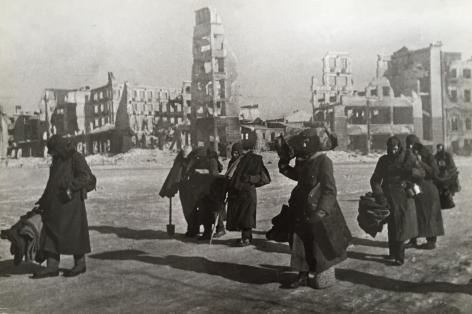 Stalingrad, 1943 Gelatin silver print, printed c. 1960s